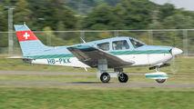HB-PKK - Private Piper PA-28 Archer aircraft
