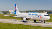 VQ-BKJ - Ural Airlines Airbus A321 aircraft