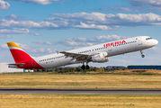 EC-HUH - Iberia Airbus A321 aircraft