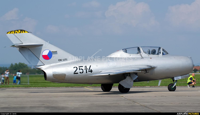 Private OK-UTI aircraft at Hradec Králové