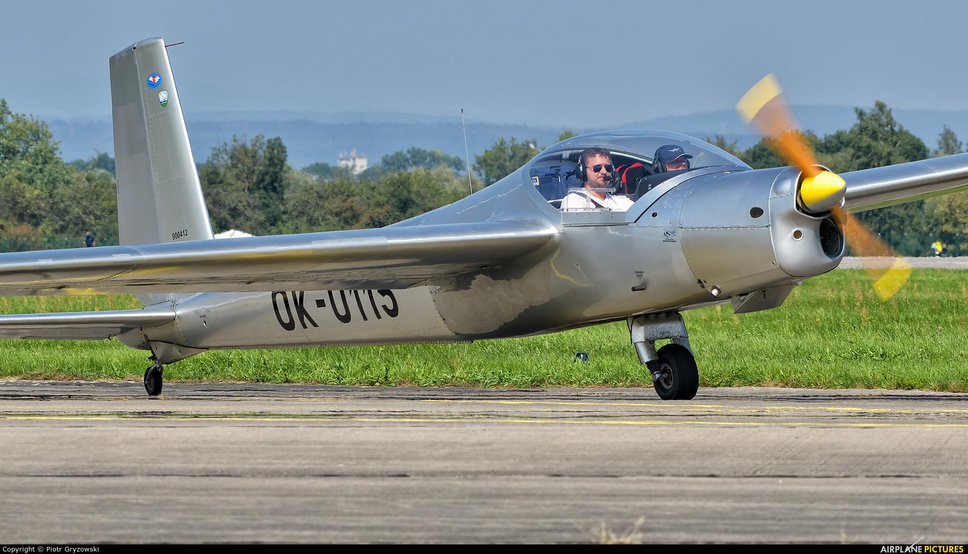 Private OK-0115 aircraft at Hradec Králové