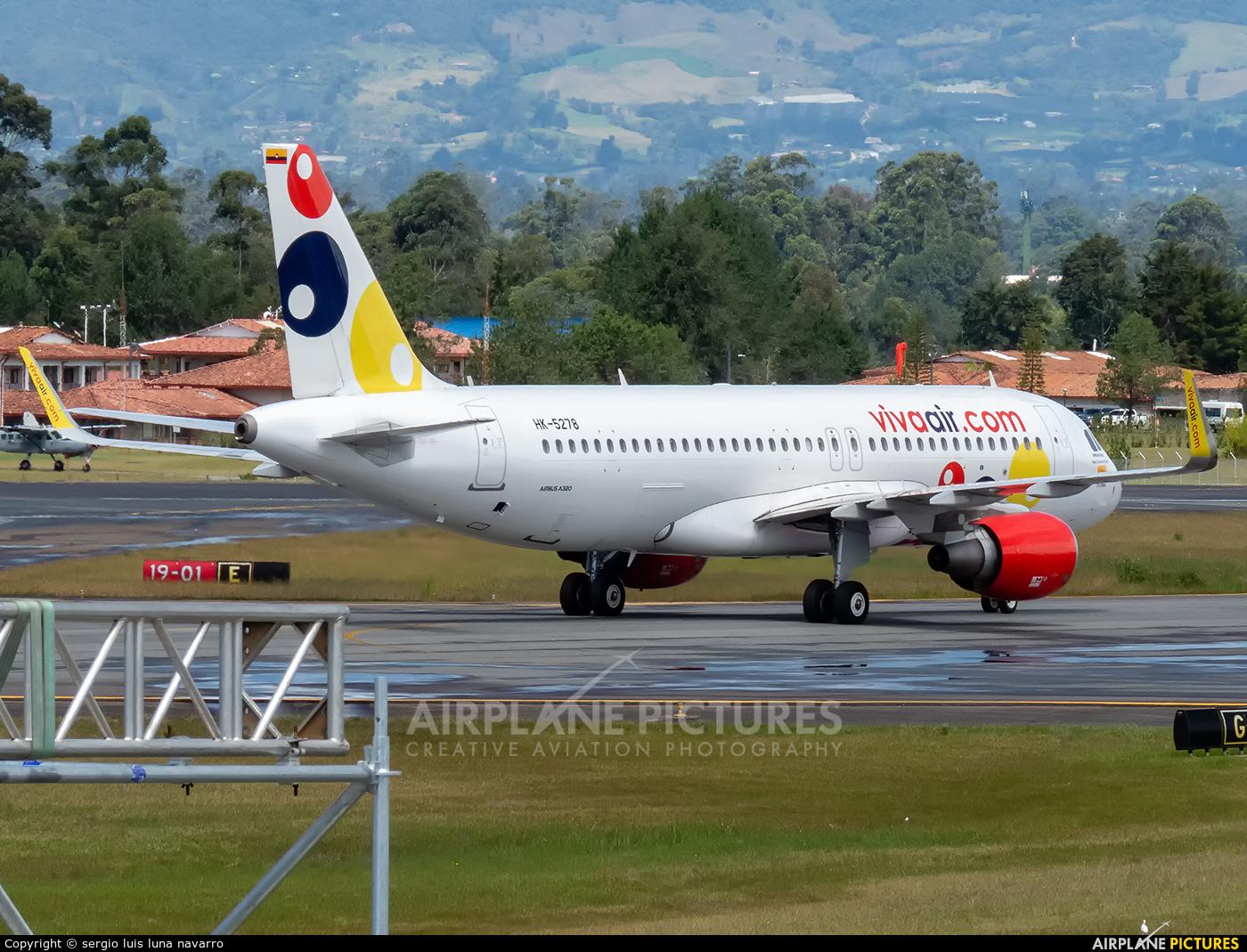 Viva Air HK-5278 aircraft at Medellin - Jose Maria Cordova Intl