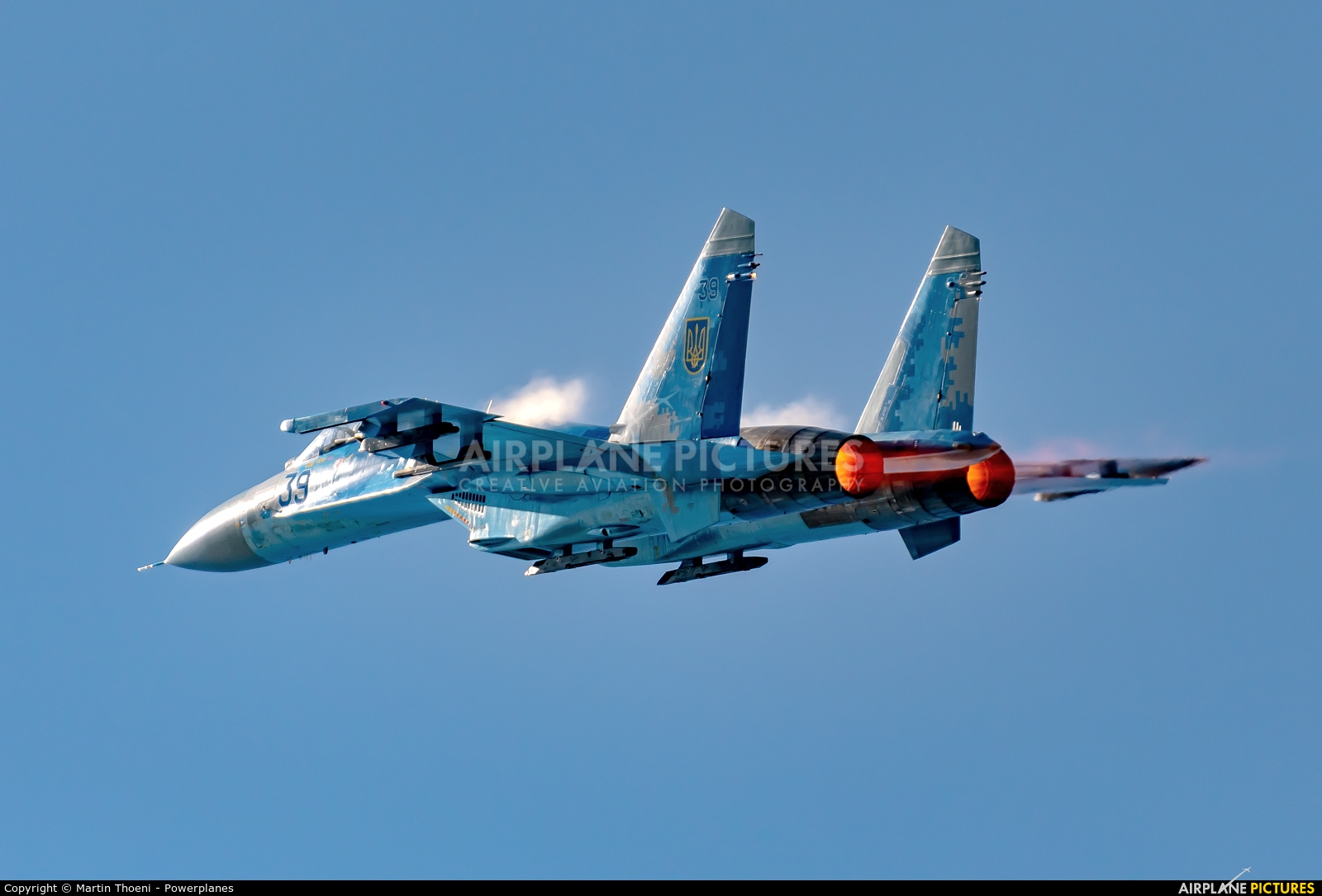 Ukraine - Air Force 39 aircraft at Leopoldsburg - Beverlo