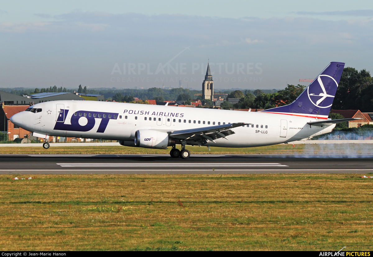 LOT - Polish Airlines SP-LLG aircraft at Brussels - Zaventem