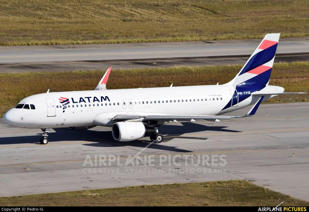 LATAM PR-TYQ aircraft at São Paulo - Guarulhos