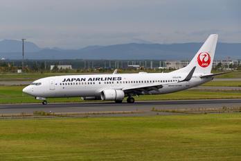 JA319J - JAL - Japan Airlines Boeing 737-800