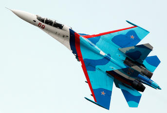 RF-92222 - Russia - Air Force Sukhoi Su-30SM