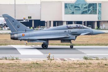 CE.16-12 - Spain - Air Force Eurofighter Typhoon