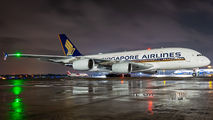 9V-SKU - Singapore Airlines Airbus A380 aircraft