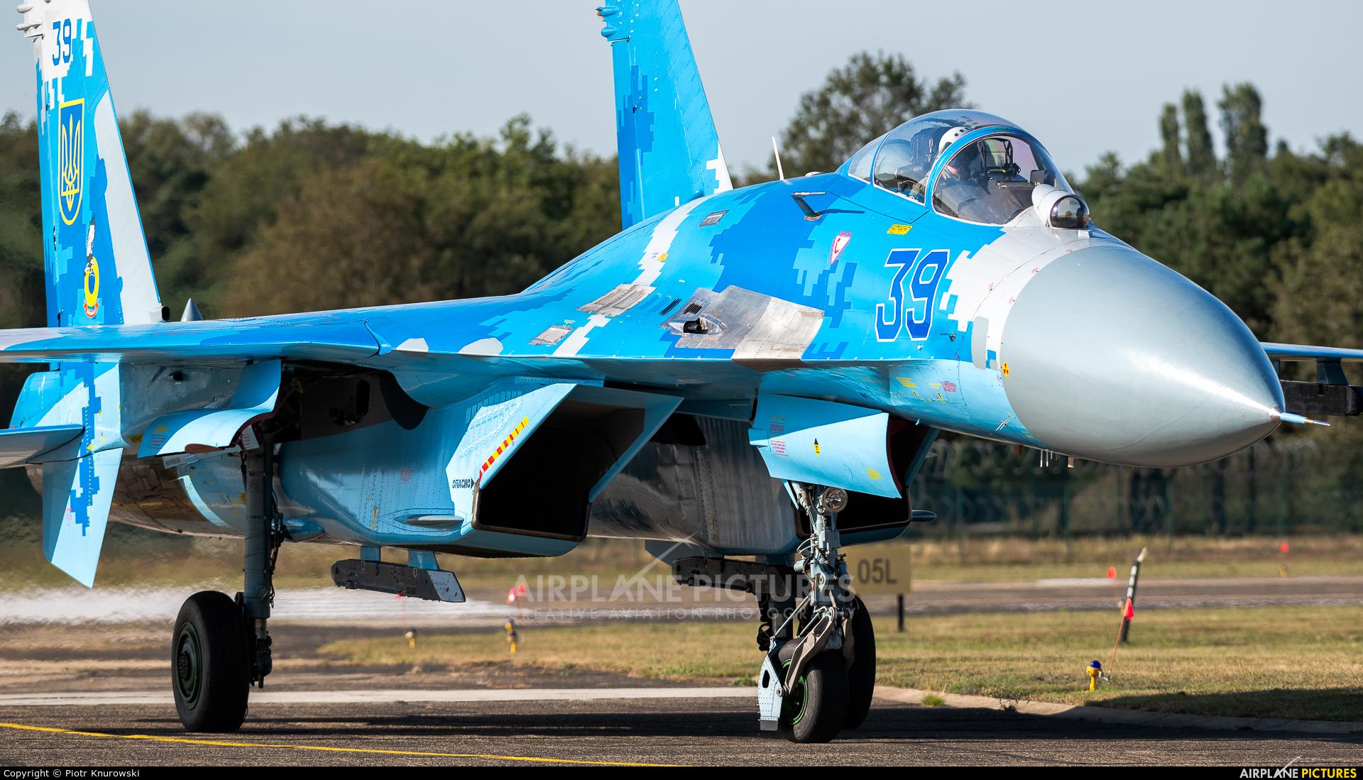 Ukraine - Air Force 39 aircraft at Kleine Brogel