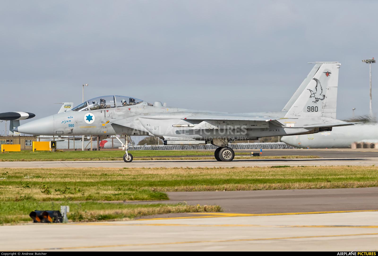 Israel - Defence Force 980 aircraft at Waddington