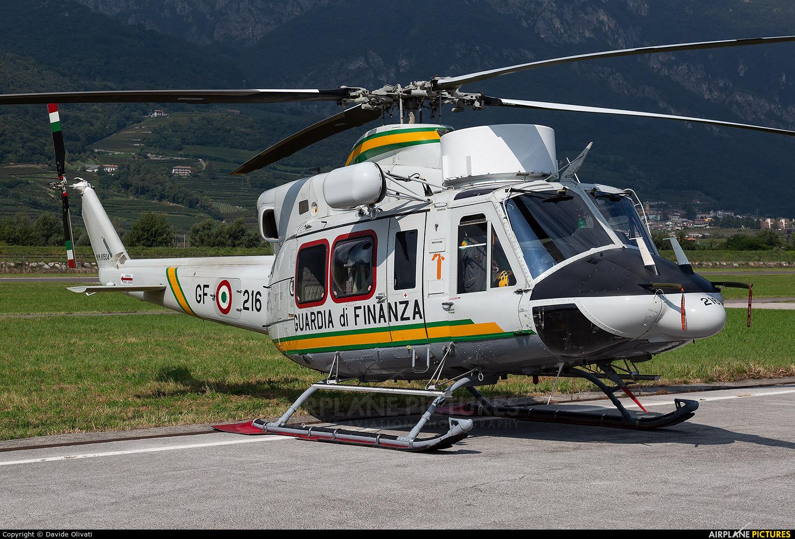 Italy - Guardia di Finanza MM81504 aircraft at Trento - Mattarello