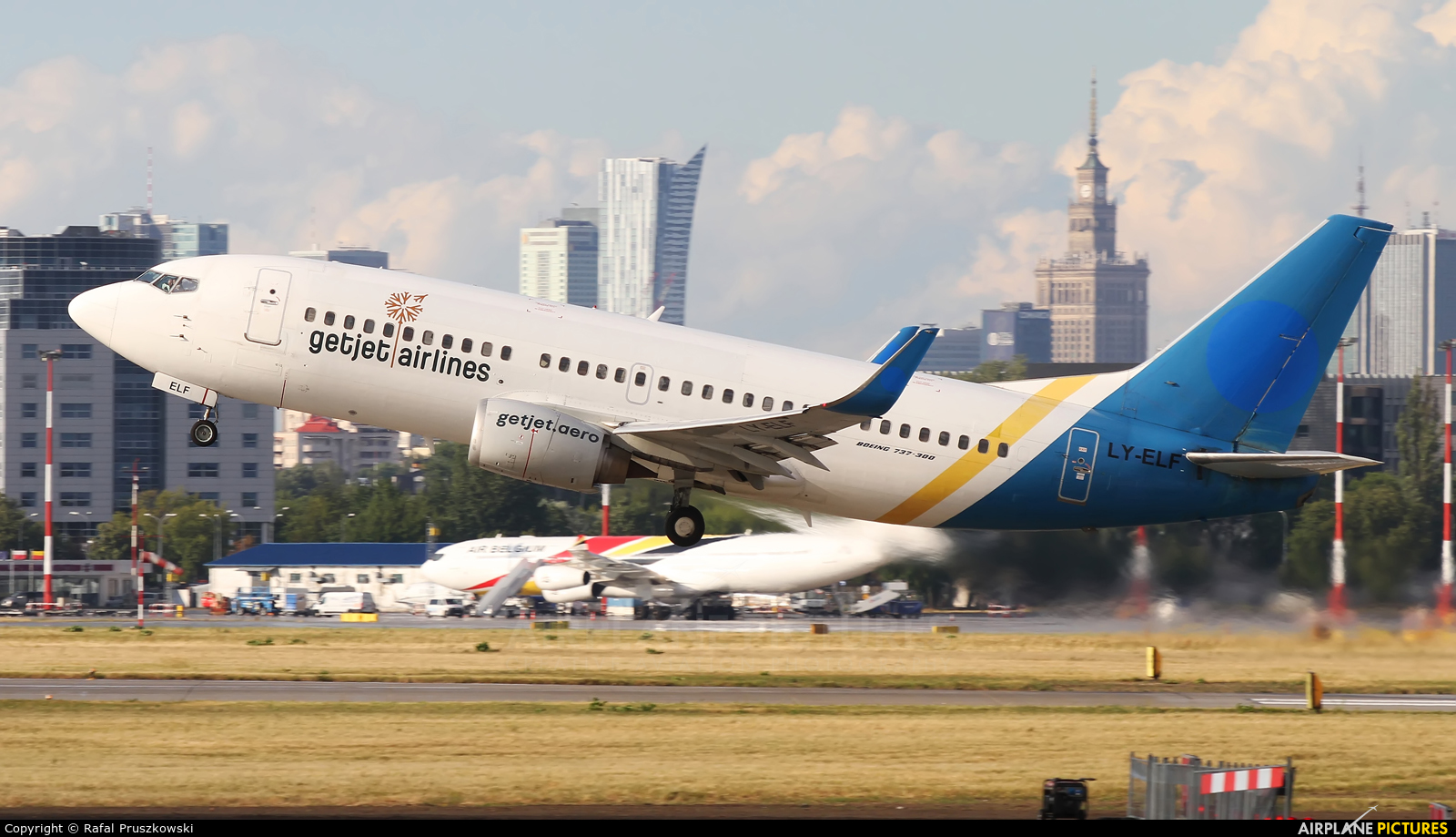 GetJet LY-ELF aircraft at Warsaw - Frederic Chopin