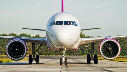 HA-LVE - Wizz Air Airbus A321 NEO