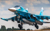 11 - Russia - Air Force Sukhoi Su-34 aircraft
