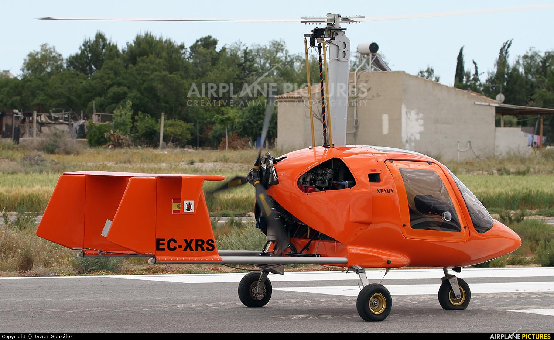 Private EC-XRS aircraft at Totana
