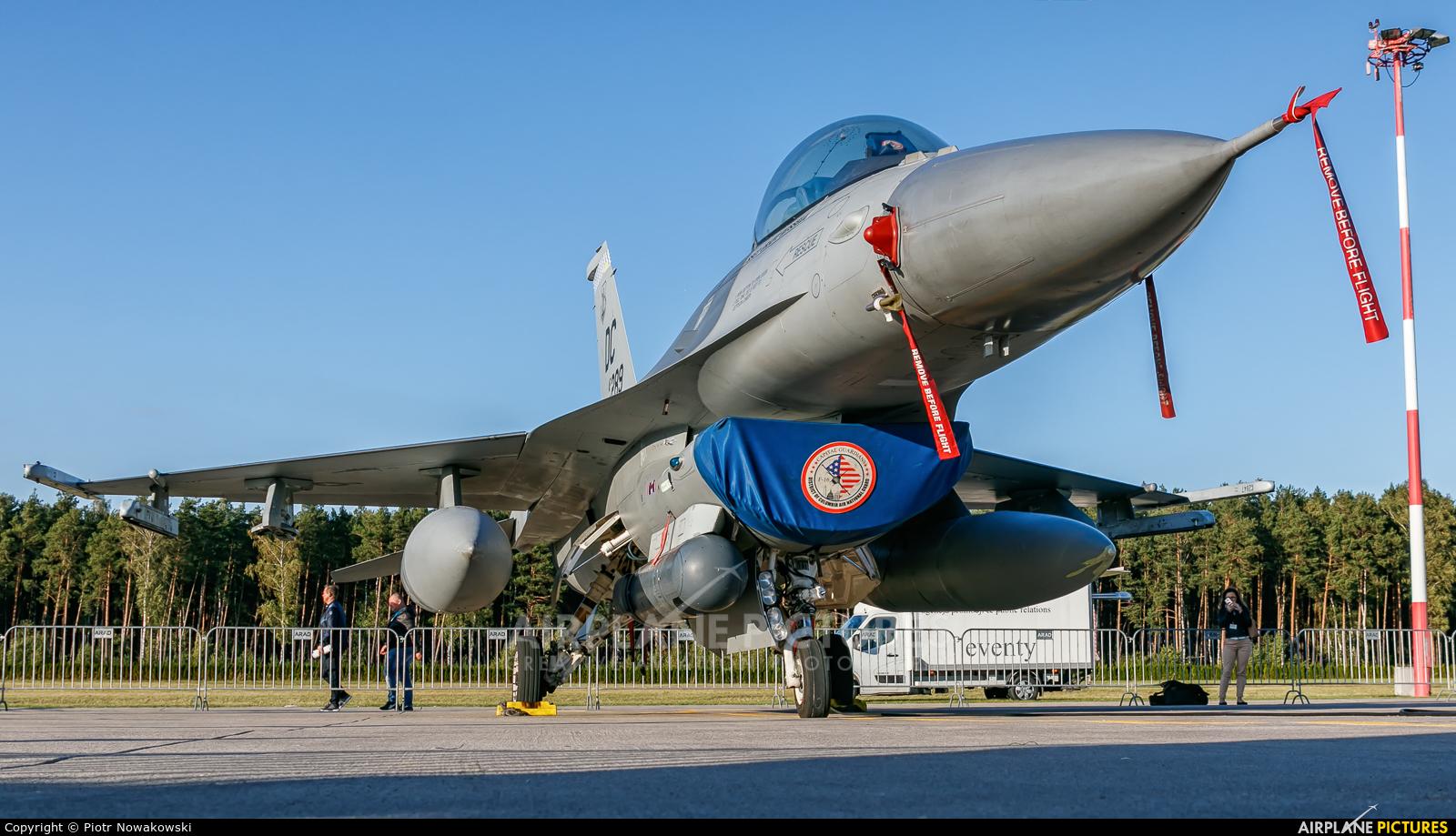 USA - Air National Guard 86-0289 aircraft at Łask AB