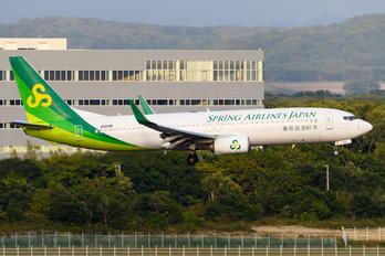 JA01GR - Spring Airlines Japan Boeing 737-800
