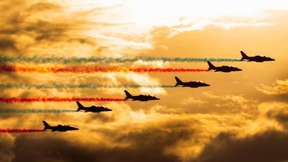 """E44 - France - Air Force """"Patrouille de France"""" Dassault - Dornier Alpha Jet E"""