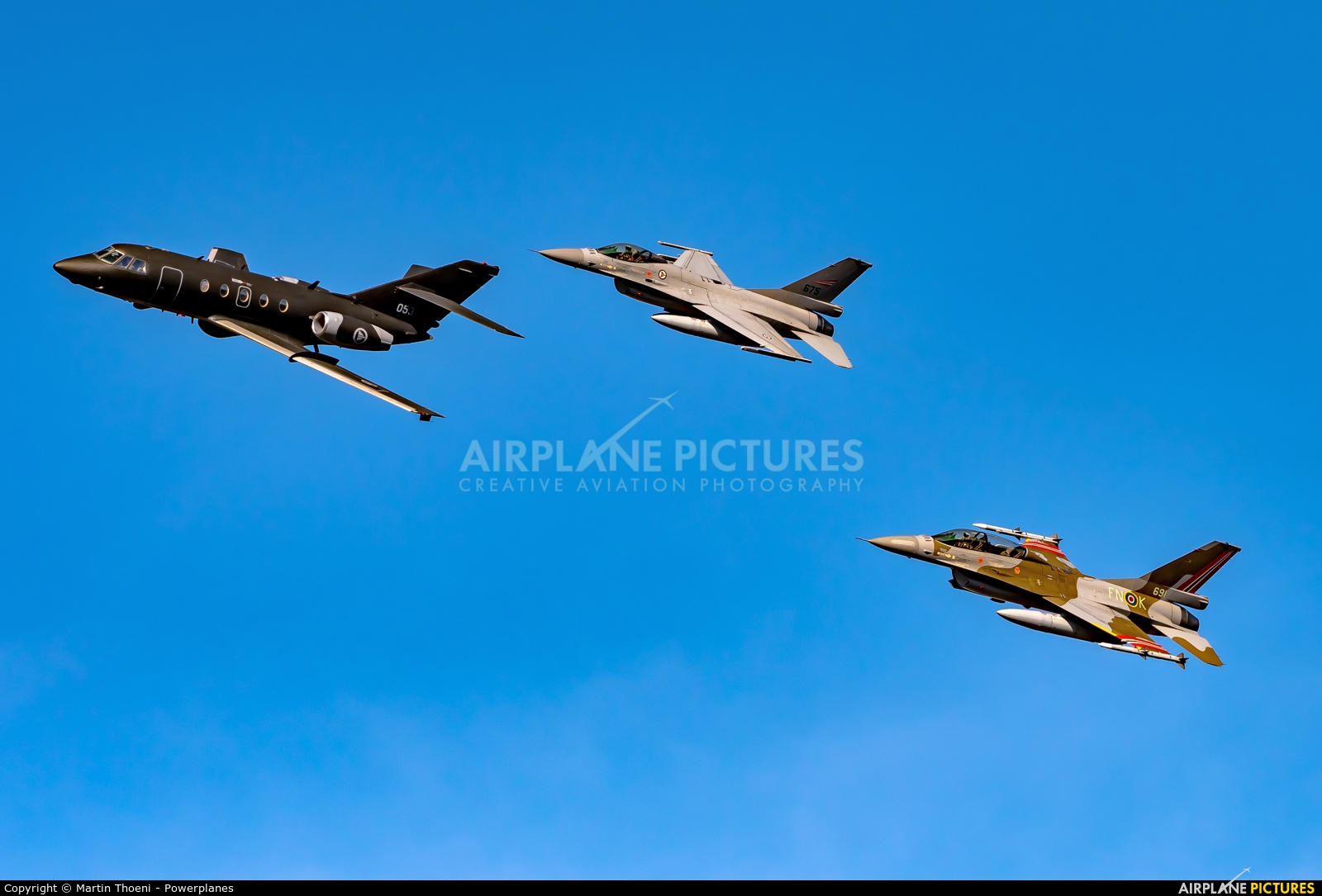 Norway - Royal Norwegian Air Force 053 aircraft at Leopoldsburg - Beverlo