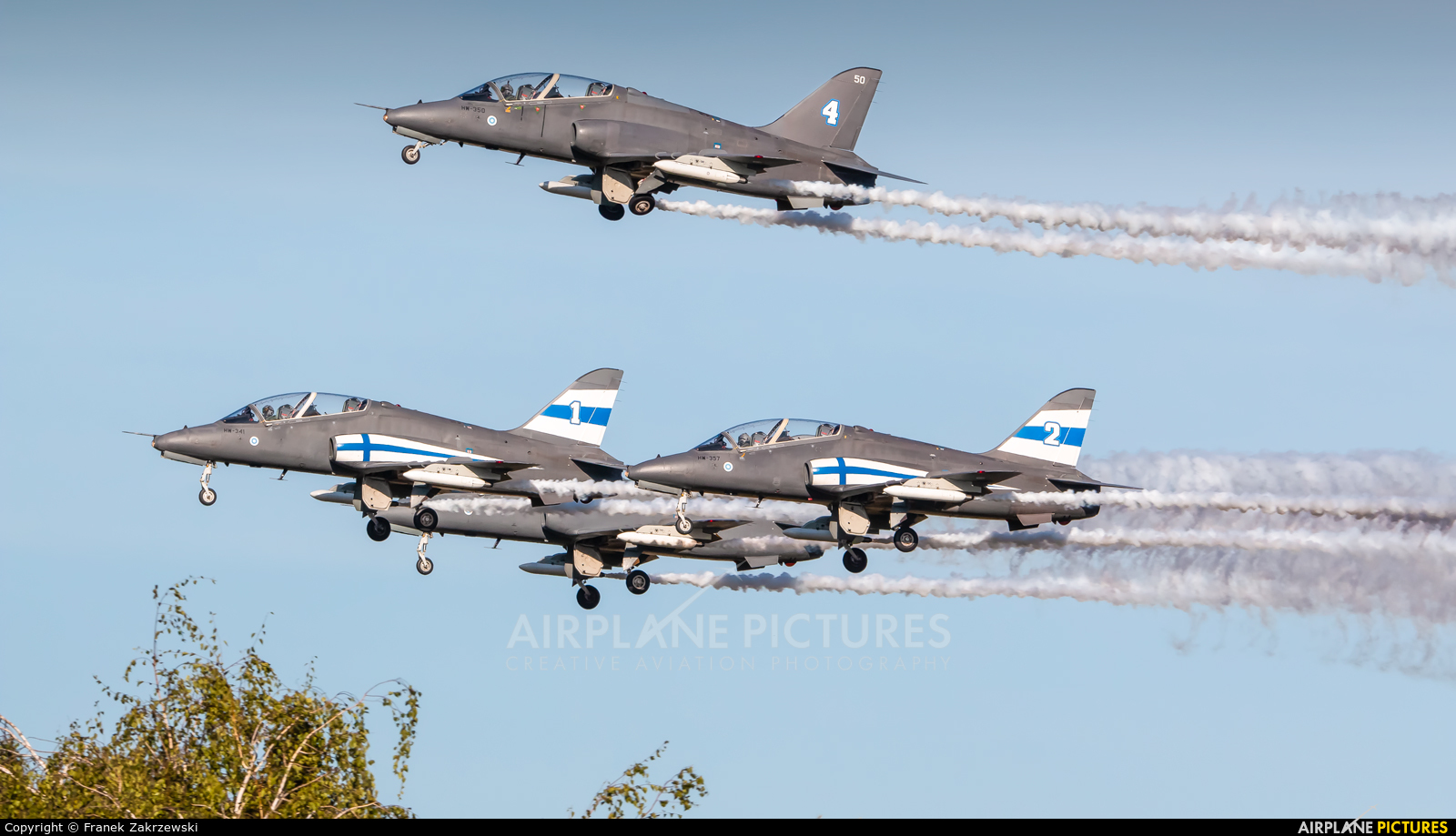 Finland - Air Force: Midnight Hawks HW-341 aircraft at Ostrava Mošnov