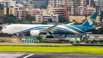Rare visit of Oman Air B789 to Mumbai title=