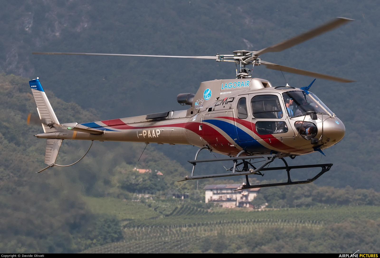 Private I-PAAP aircraft at Trento - Mattarello