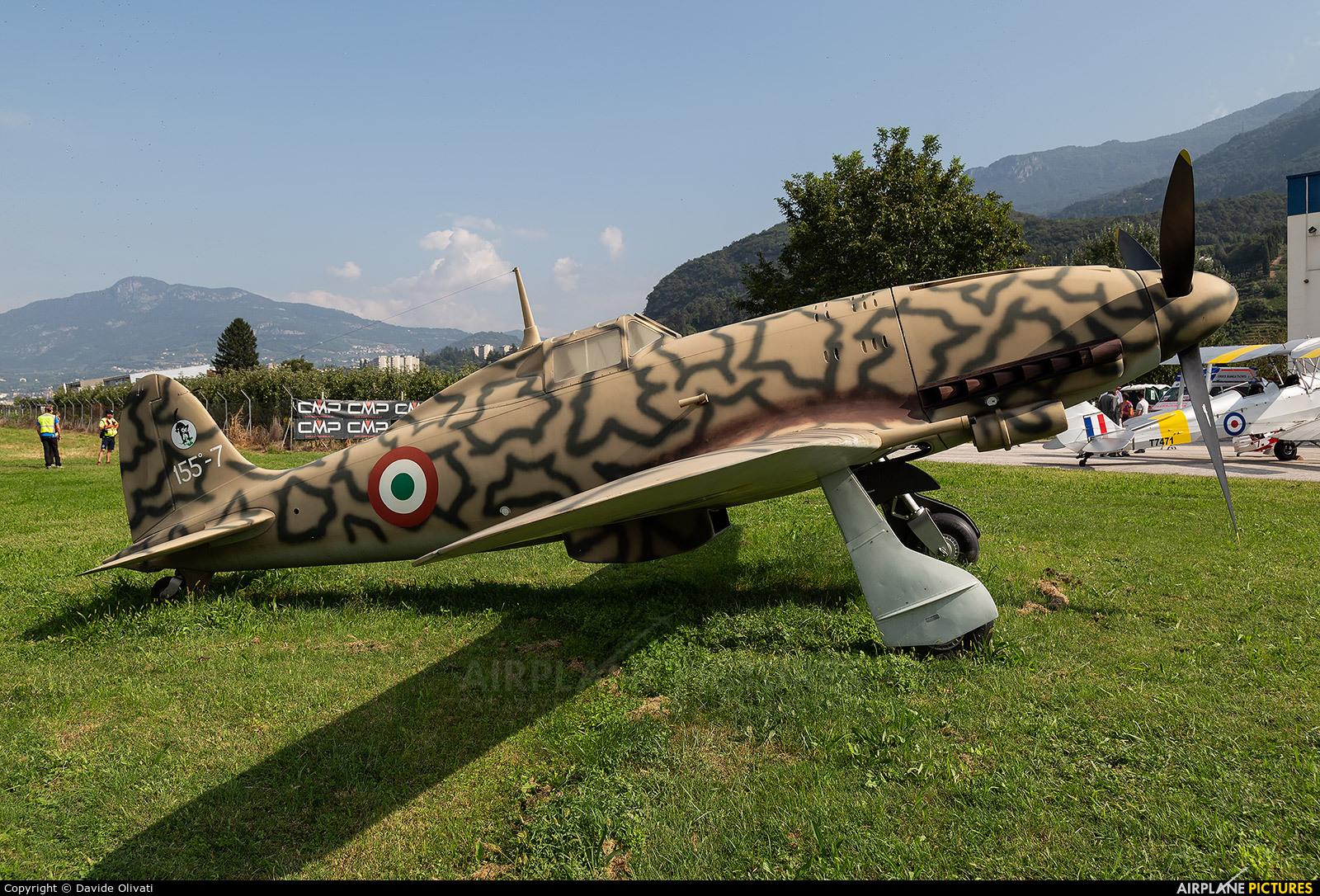 Italy - Air Force MM9327 aircraft at Trento - Mattarello