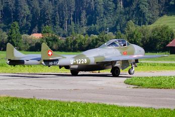 HB-RVJ - FFA Museum de Havilland DH.115 Vampire T.55