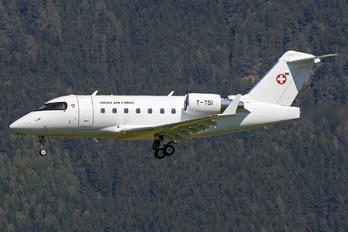 T-751 - Switzerland - Air Force Bombardier CL-600-2B16 Challenger 604