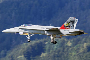 J-5017 - Switzerland - Air Force McDonnell Douglas F/A-18C Hornet
