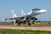52 - Russia - Air Force Sukhoi Su-30SM aircraft