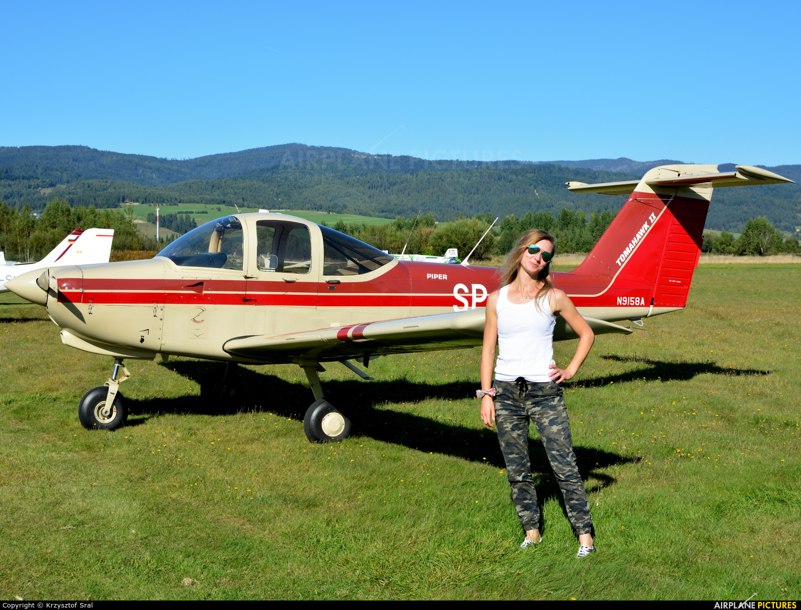 - Aviation Glamour SP-IER aircraft at Nowy Targ