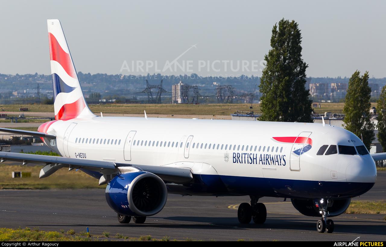 British Airways G-NEOU aircraft at Paris - Charles de Gaulle