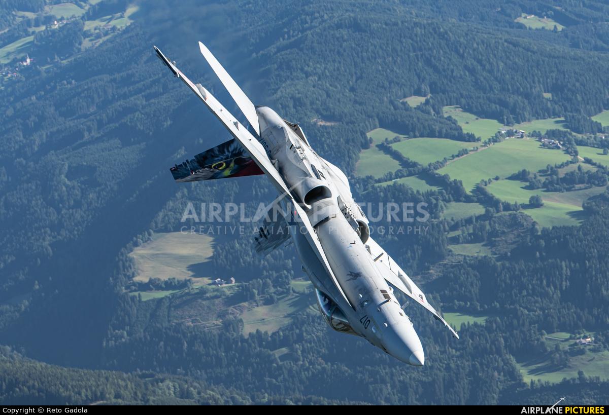 Switzerland - Air Force J-5017 aircraft at In Flight - Austria
