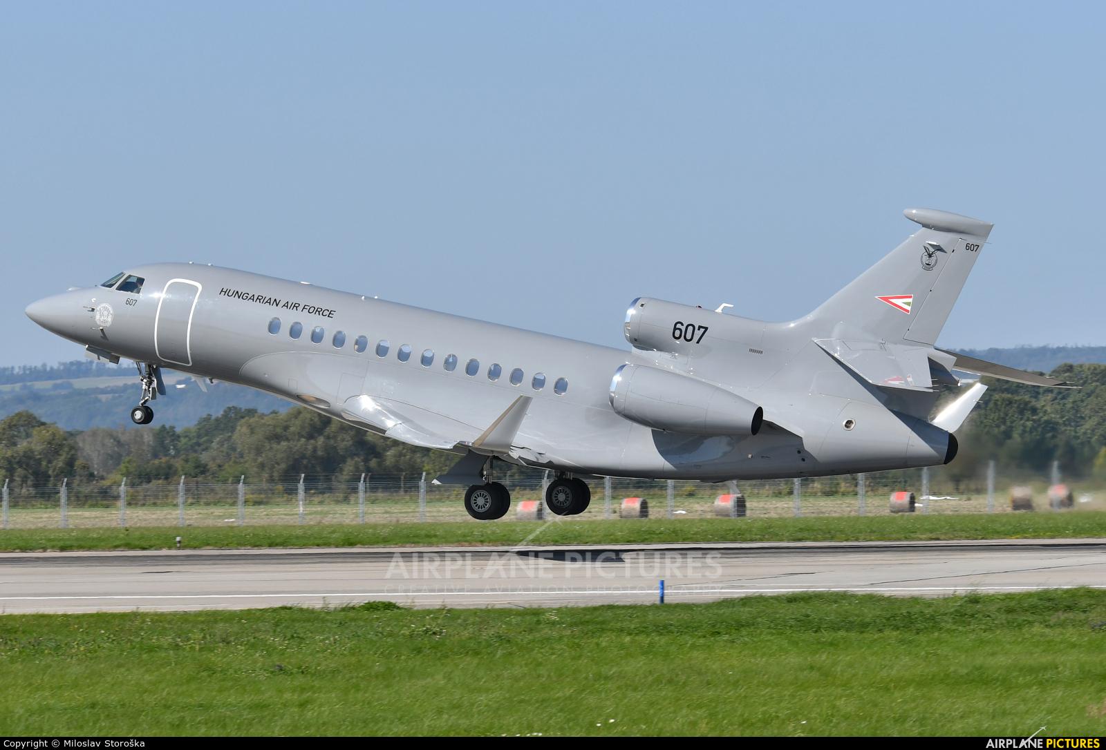 Hungary - Air Force 607 aircraft at Ostrava Mošnov