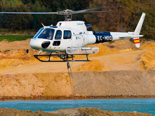 EC-MBQ - Babcock M.C.S. Spain Aerospatiale AS350 Ecureuil / Squirrel