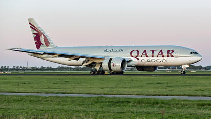 A7-BFP - Qatar Airways Cargo Boeing 777F