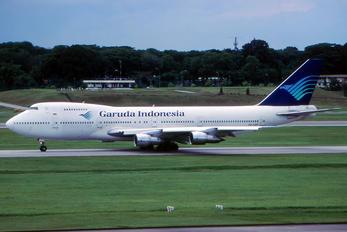 PK-GSF - Garuda Indonesia Boeing 747-200