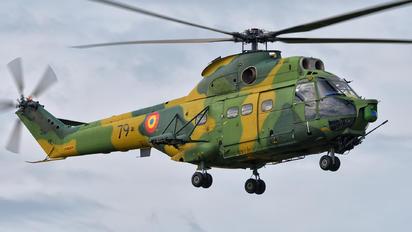 79 - Romania - Air Force IAR Industria Aeronautică Română IAR 330L-Socat Puma