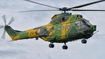 79 - Romania - Air Force IAR Industria Aeronautică Română IAR 330L-Socat Puma aircraft