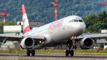 OE-LBD - Austrian Airlines Airbus A321 aircraft