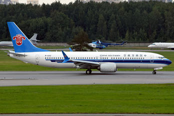 B-1202 - China Southern Airlines Boeing 737-8 MAX