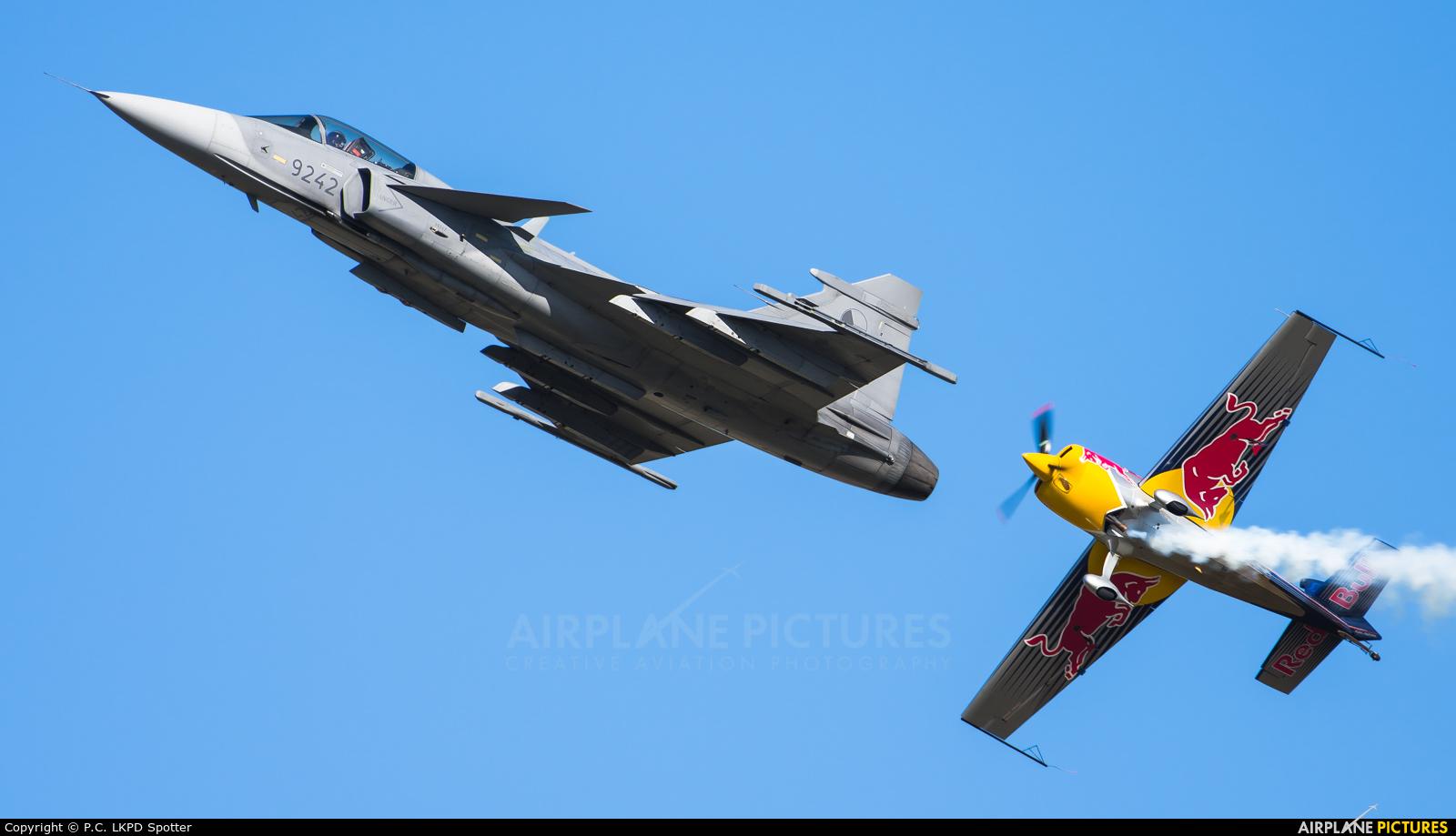 The Flying Bulls OK-SON aircraft at Ostrava Mošnov