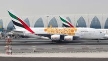 A6-EEA - Emirates Airlines Airbus A380 aircraft