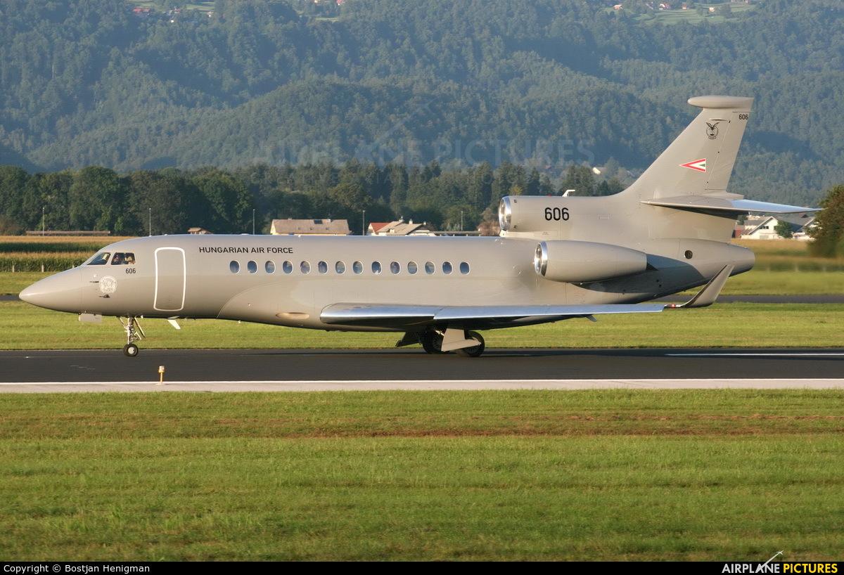 Hungary - Air Force 606 aircraft at Ljubljana - Brnik