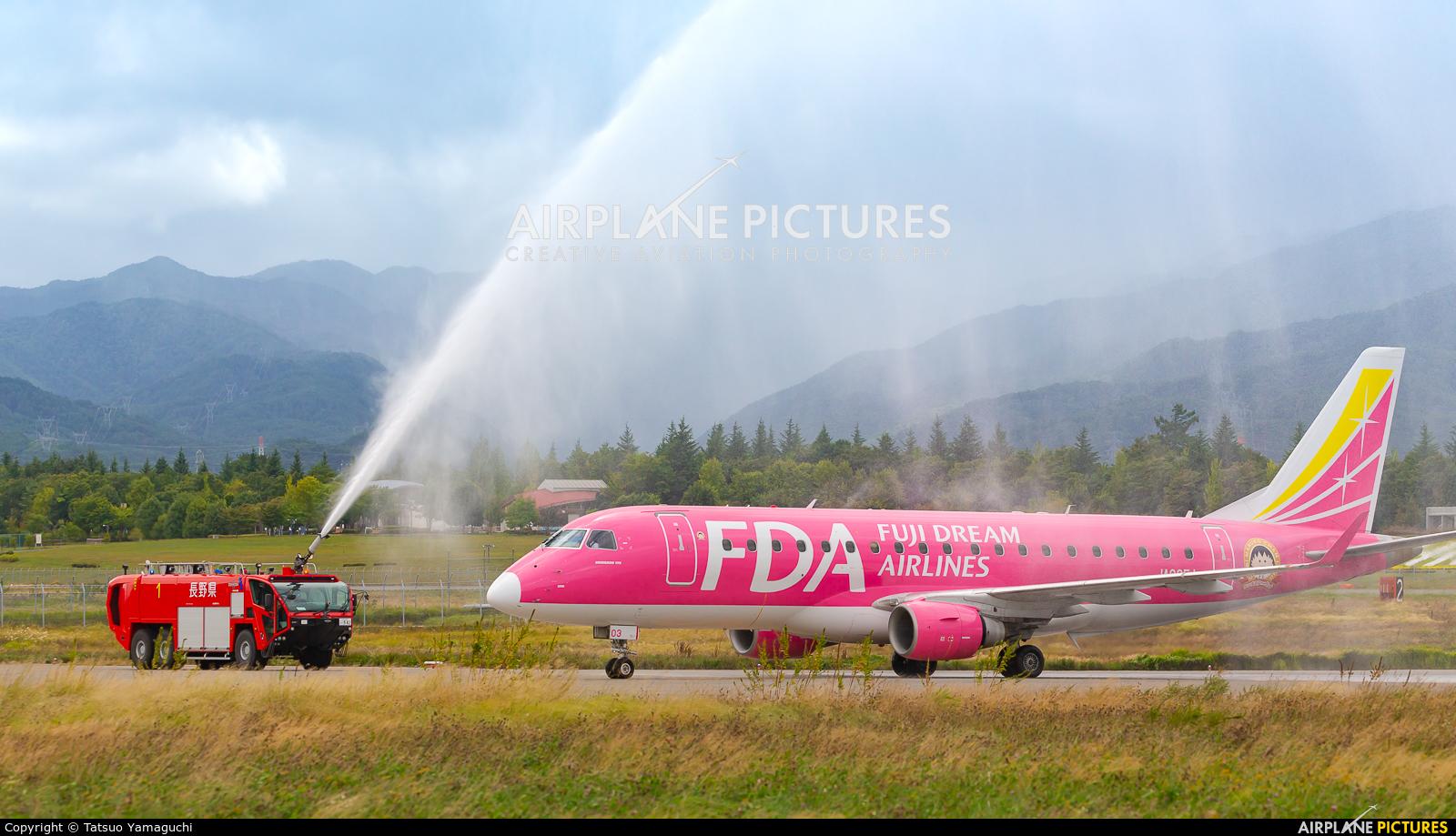 Fuji Dream Airlines JA03FJ aircraft at Shinshu - Matsumoto