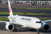 JA02XJ - JAL - Japan Airlines Airbus A350-900 aircraft