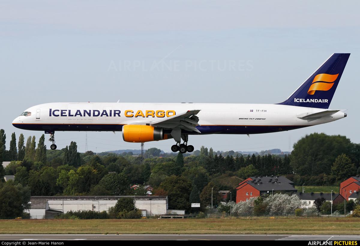 Icelandair Cargo TF-FIH aircraft at Liège-Bierset