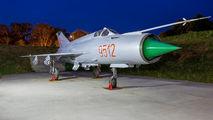 9512 - Hungary - Air Force Mikoyan-Gurevich MiG-21MF aircraft
